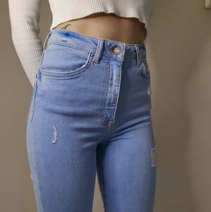 Forever 21 high rise jeans